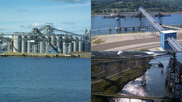 Export Grain Terminal - Longview, Washington