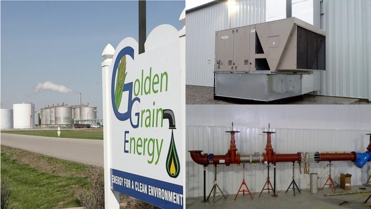 Golden Grain Energy - Water Treatment Plant & Maintenance Building - Mason City, Iowa